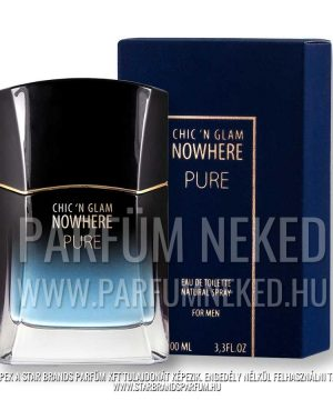 Chic and Glam Nowhere Pure Men 100ml EDT Chic 'n Glam Parfümök