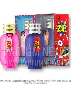 New Brand Master ZAP 100 ml és POP 100 ml Férfi parfümök