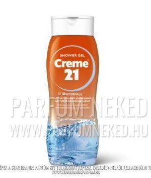 Creme21 tusfürdő WATERFALL ásványi sókkal és mentollal 250ml Creme 21