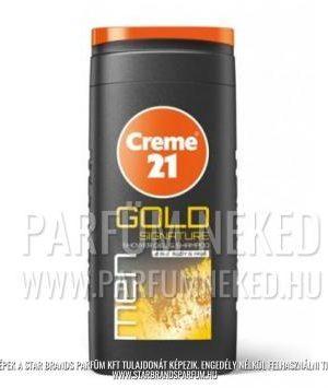 Creme21 férfi tusfürdő és samponi Gold Signature illatban 250ml Creme 21
