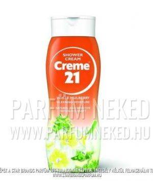 Creme21 tusfürdő WHITE MULBERRY illatban 250ml Creme 21