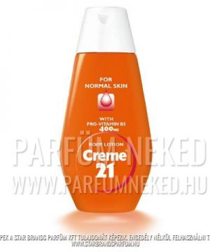 Creme21 testápoló normál bőrre B5 provitaminnal 400 ml Creme 21
