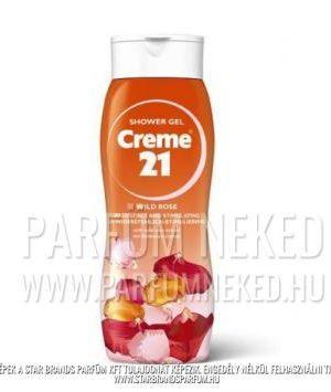 Creme21 tusfürdő WILD ROSE vadrózsa kivonattal 250ml Creme 21