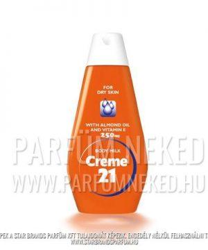 Creme21 testápoló száraz bőrre 250 ml Creme 21