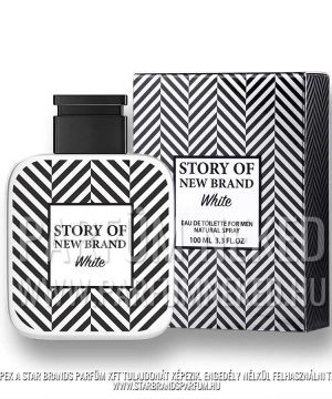 New Brand Story of NB White Men 100 ml EDT Férfi parfümök