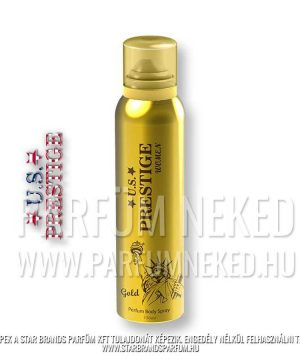U.S. Prestige Gold 150ml Női Body Spray Női parfümök