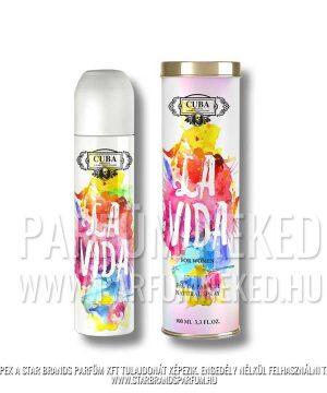 Cuba La Vida 100ml EDP Cuba Parfüm Női illat