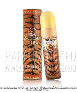 Cuba Jungle Tiger EDP 100ml Cuba Parfüm Női illat