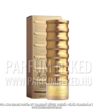 New Brand Gold Woman 100 ml EDP New Brand Női Illatok