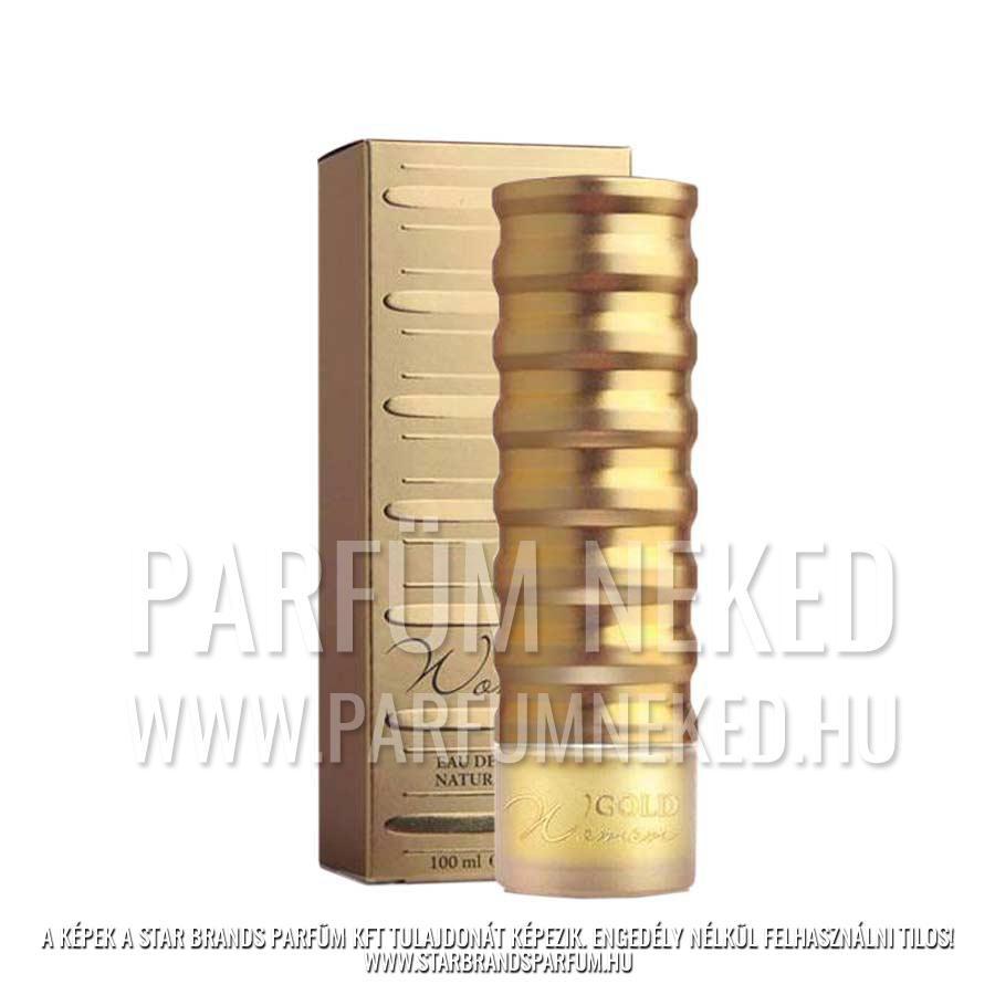 New Brand Gold Woman 100 ml EDP New Brand Női Illatok