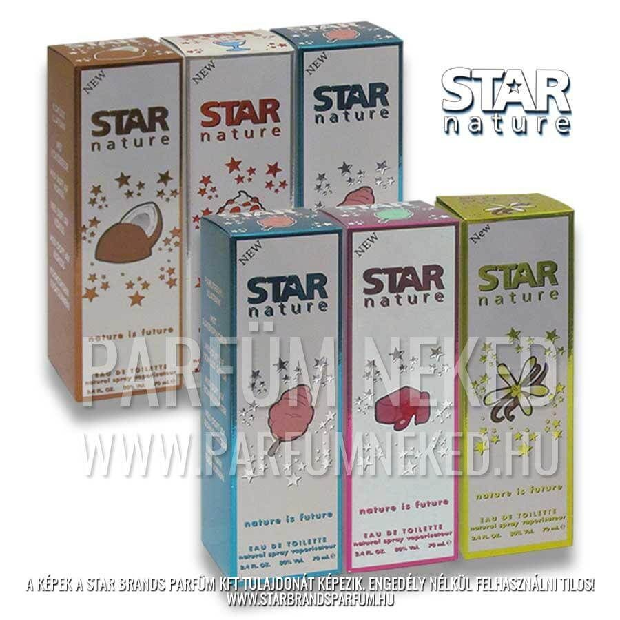 Best of Star Nature 420ml EDT 6 x 70ml Női parfümök