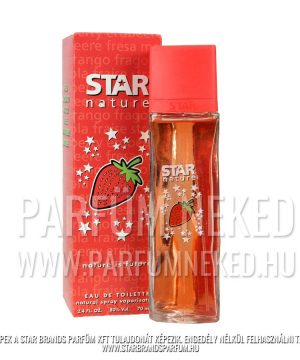 Star Nature – Eper illat EDT 70ml Női parfümök