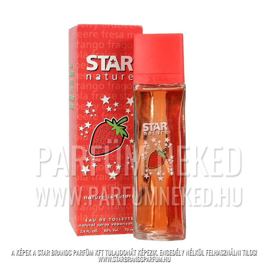 Star Nature – Eper illat EDT 70ml Női parfümök