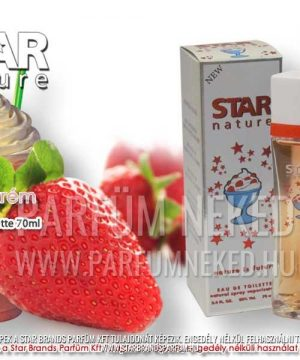 Star Nature Eperkrém illatú 70ml EDT Női parfümök