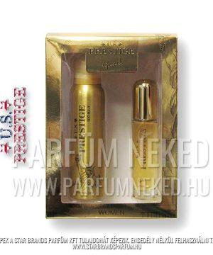 U.S. Prestige Gold 50ml EDP 150ml Body Spray Női Díszdoboz Női parfümök
