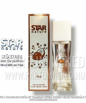 Star Nature Kókusz illat EDP 30ml Női parfümök