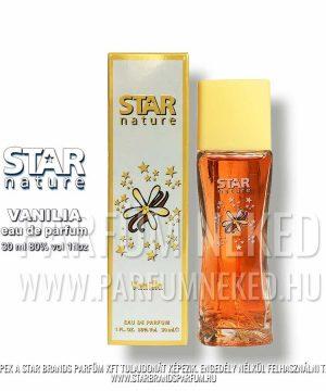 Star Nature Vanilia illat EDP 30ml Női parfümök