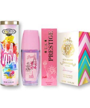 Extravagáns Parfümök Nőknek Illatcsomagok