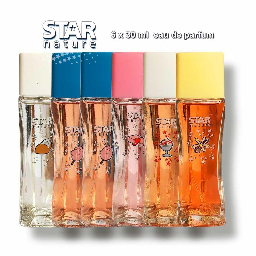 Best of Star Nature 180ml EDP 6 x 30ml Illatcsomagok