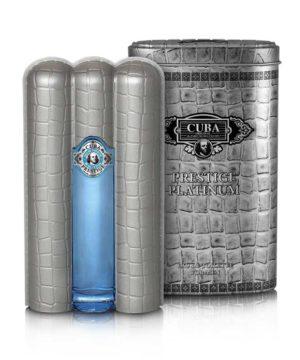 Cuba Prestige EDT Platinum 90ml Cuba Parfüm Férfi illat