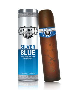 Cuba Silver Blue EDT 100 ml Cuba Parfüm Férfi illat