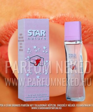 Star Nature Rágógumi illat EDT 70ml Női parfümök