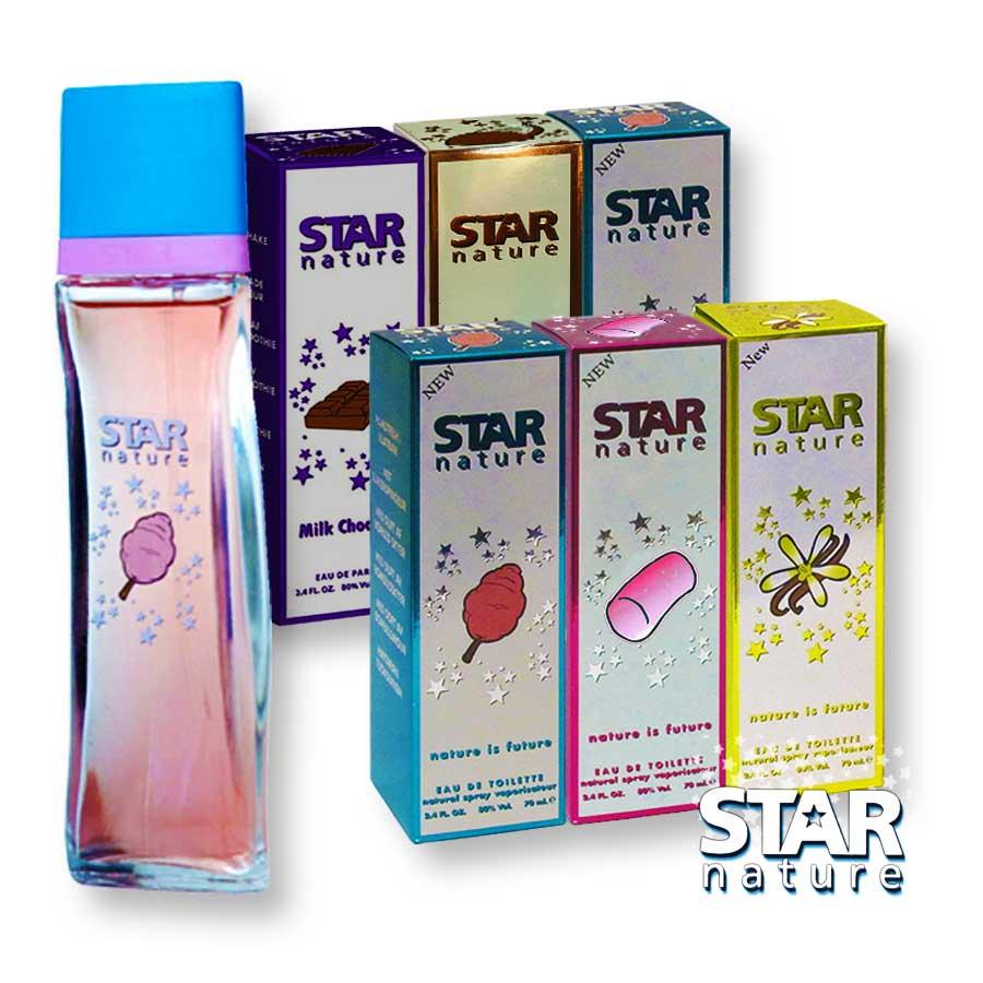 Star Nature Édes illatok 420ml EDT 6 x 70ml Női parfümök