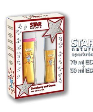 Star Nature Eperkrém illatú Díszdoboz Női parfümök